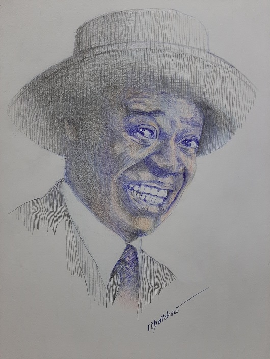 Louis Armstrong by Bobchew